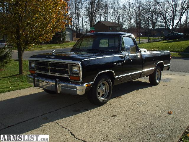 1987 dodge pickup information and photos momentcar. Black Bedroom Furniture Sets. Home Design Ideas