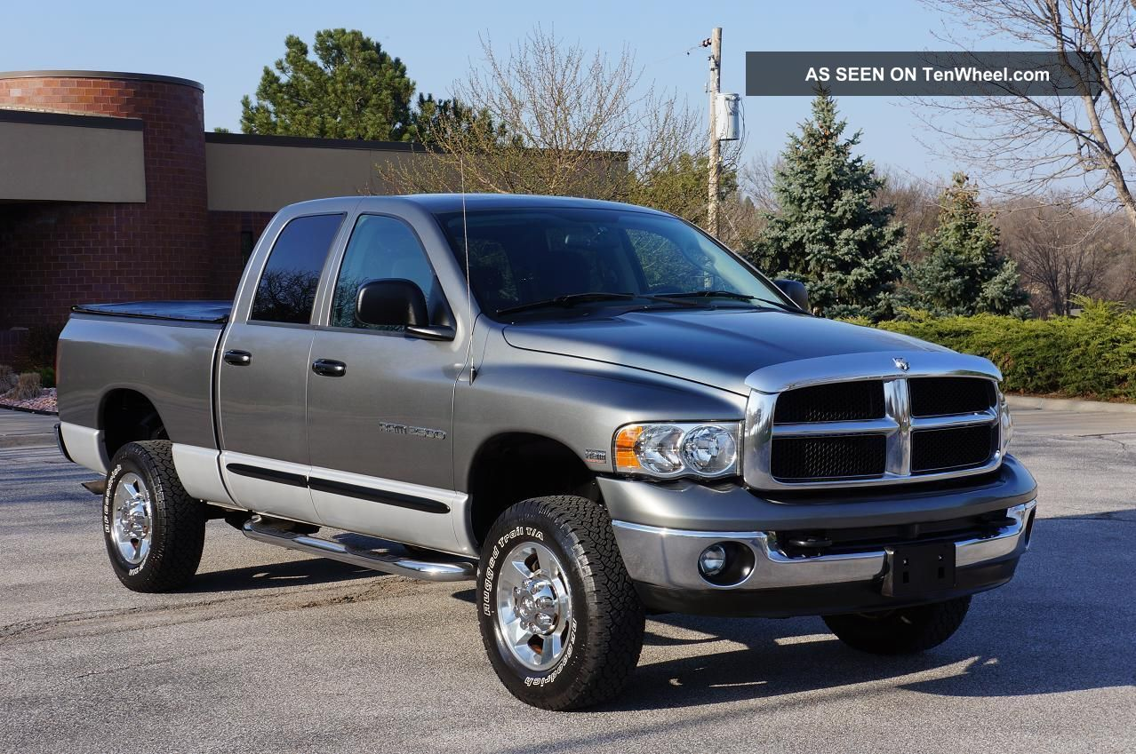 2004 Dodge Ram Pickup 2500 Information And Photos