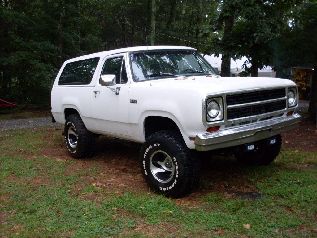 1979 Dodge Ramcharger Information And Photos Momentcar