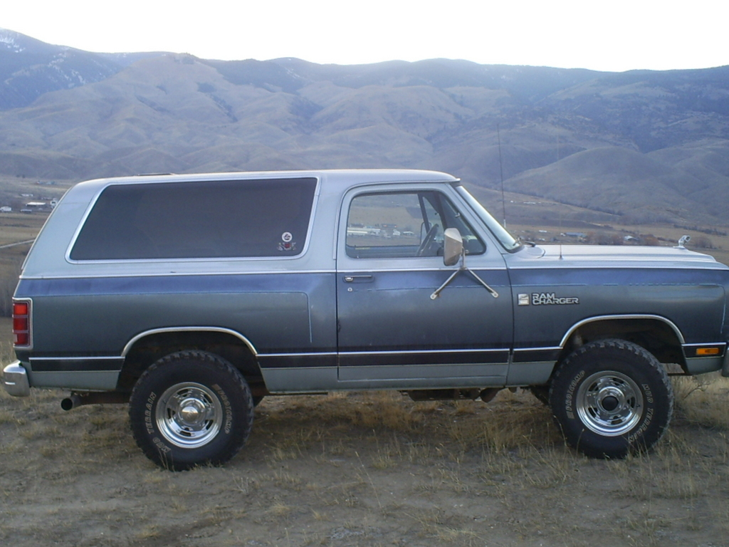 1987 Dodge Ramcharger Information And Photos Momentcar