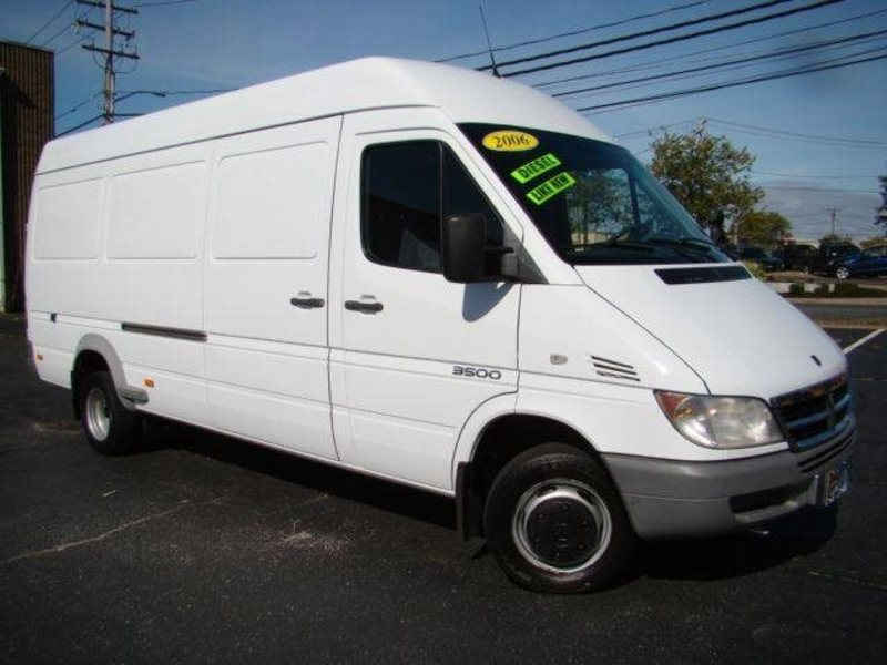 2006 dodge sprinter cargo information and photos momentcar. Black Bedroom Furniture Sets. Home Design Ideas