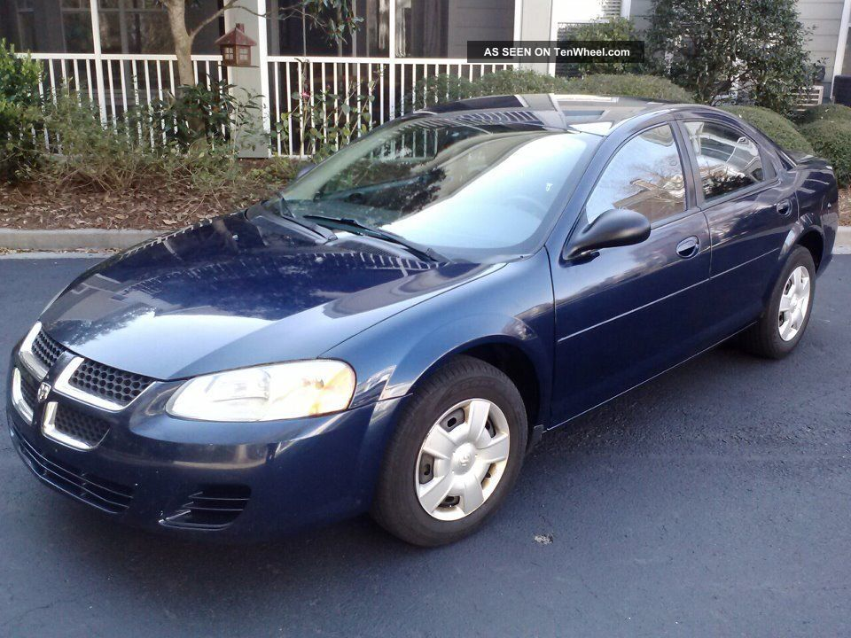 2006 Dodge Stratus Information And Photos Momentcar