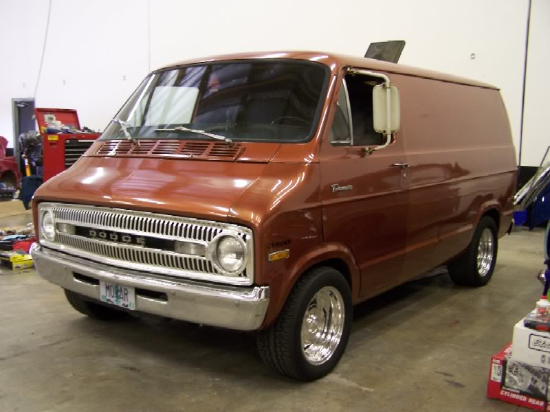 1972 Dodge Van Information And Photos Momentcar