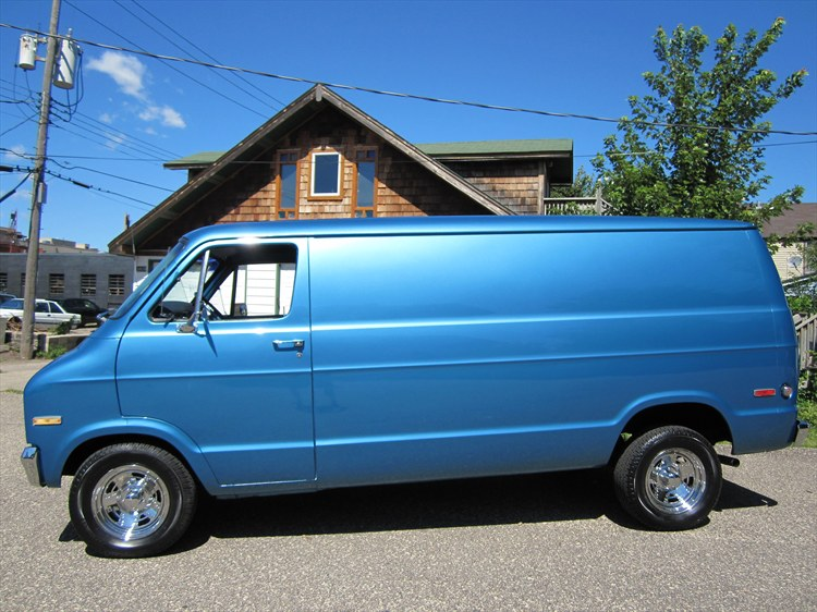 1975 Dodge Van Information And Photos Momentcar