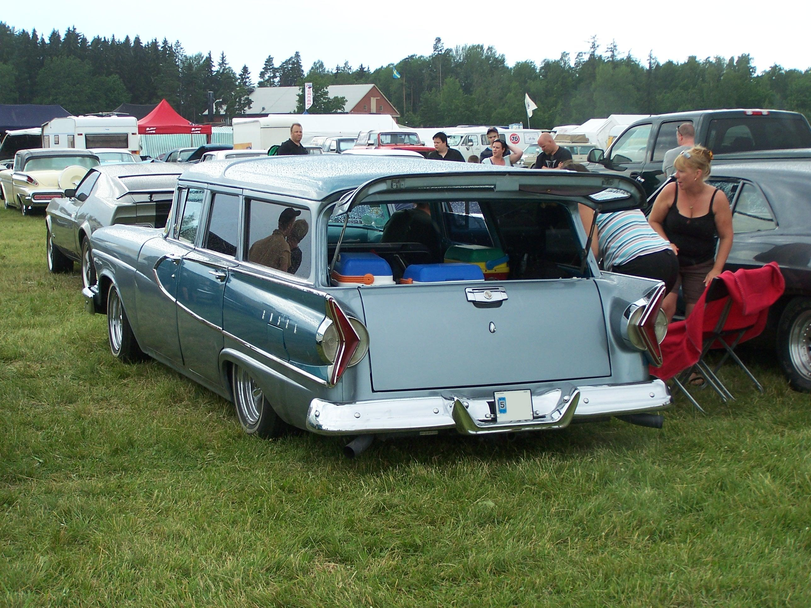Edsel Villager 1958 #10