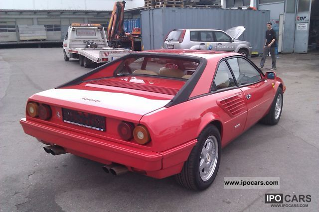1983 ferrari mondial information and photos momentcar. Black Bedroom Furniture Sets. Home Design Ideas