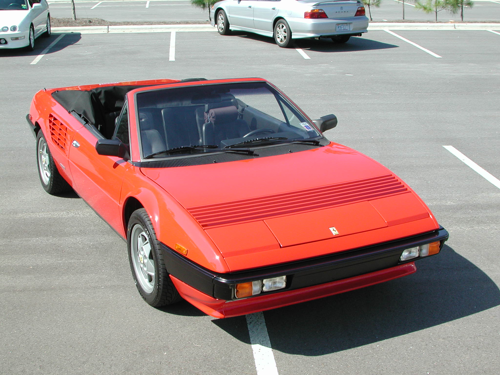 1985 ferrari mondial information and photos momentcar. Black Bedroom Furniture Sets. Home Design Ideas