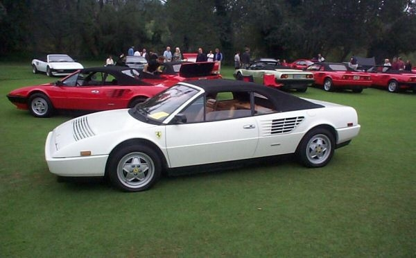 image gallery 1987 ferrari mondial. Black Bedroom Furniture Sets. Home Design Ideas