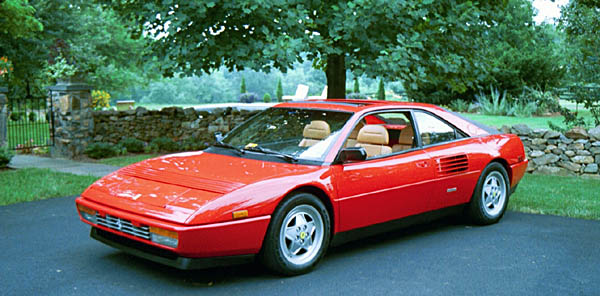 1989 ferrari mondial t information and photos momentcar. Black Bedroom Furniture Sets. Home Design Ideas