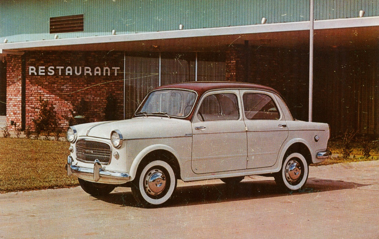 1958 Fiat 1100 Information And Photos Momentcar