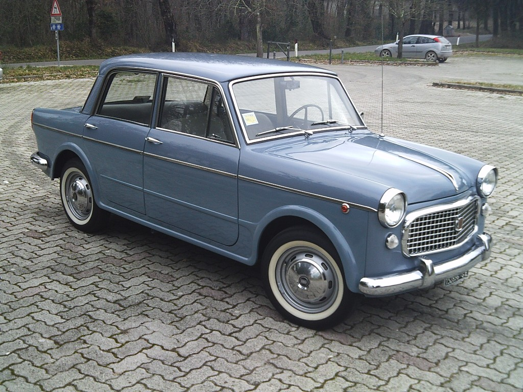 1961 Fiat 1100 Information And Photos Momentcar