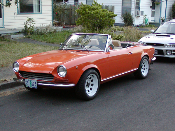1968 fiat spider for sale