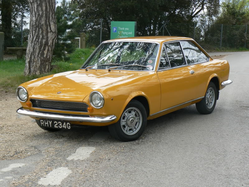 1969 fiat 124 information and photos momentcar - 1969 fiat 124 sport coupe for sale ...