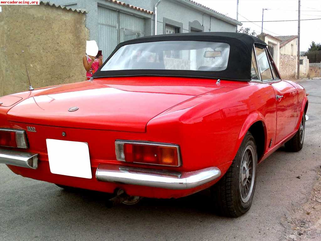 1971 Fiat 124 Information And Photos Momentcar Sport Spider 12