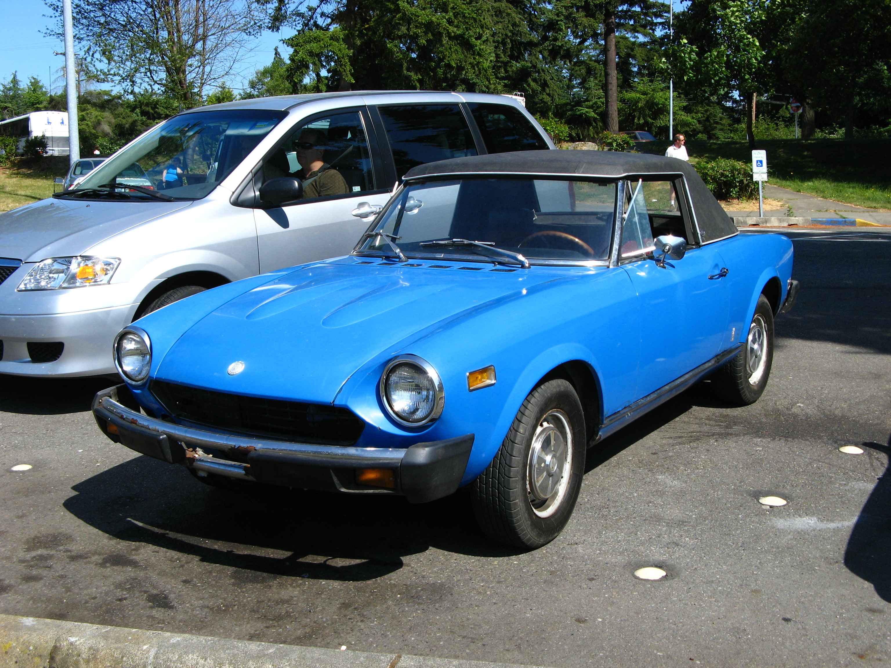1975 fiat 124 information and photos momentcar - 1975 fiat 124 sport coupe ...