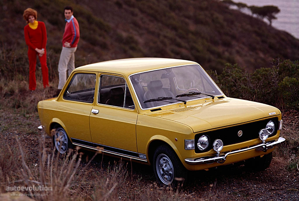 1974 fiat 128 information and photos momentcar. Black Bedroom Furniture Sets. Home Design Ideas