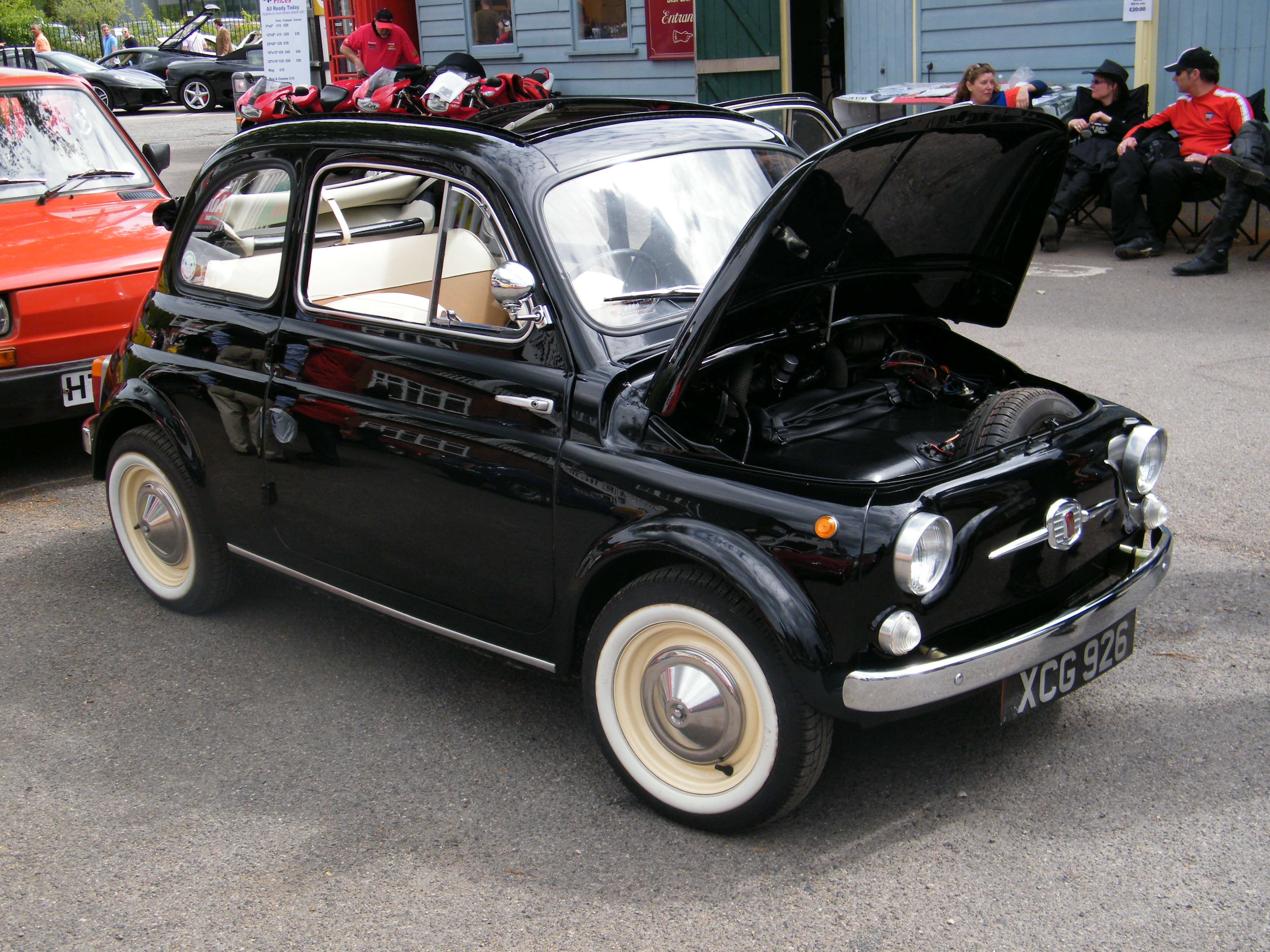 1956 Fiat 500 Information And Photos Momentcar
