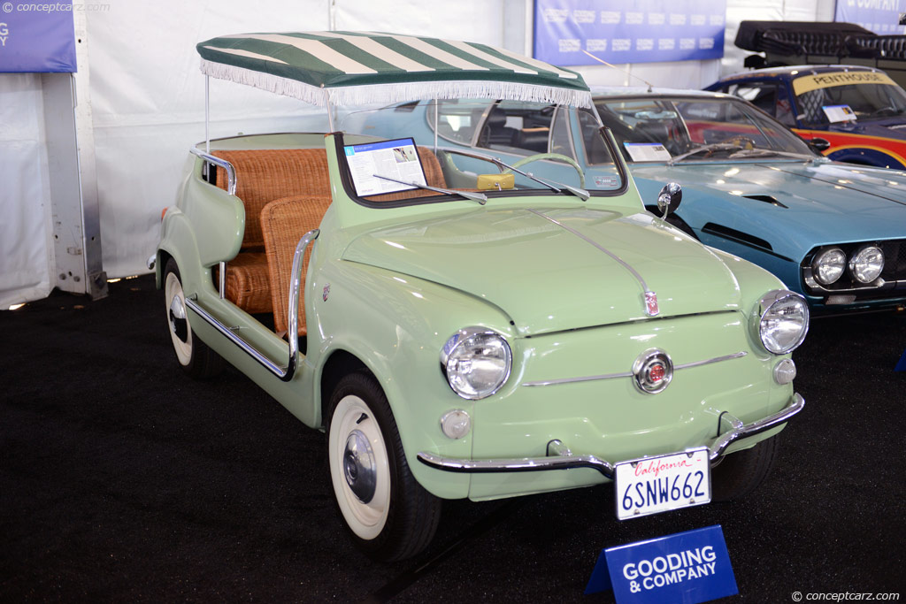 1959 Fiat 600 - Information and photos - MOTcar