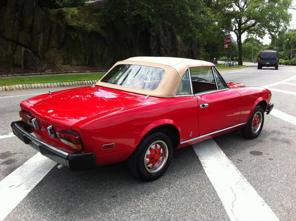 1980 Fiat Spider 2000 Information And Photos Momentcar