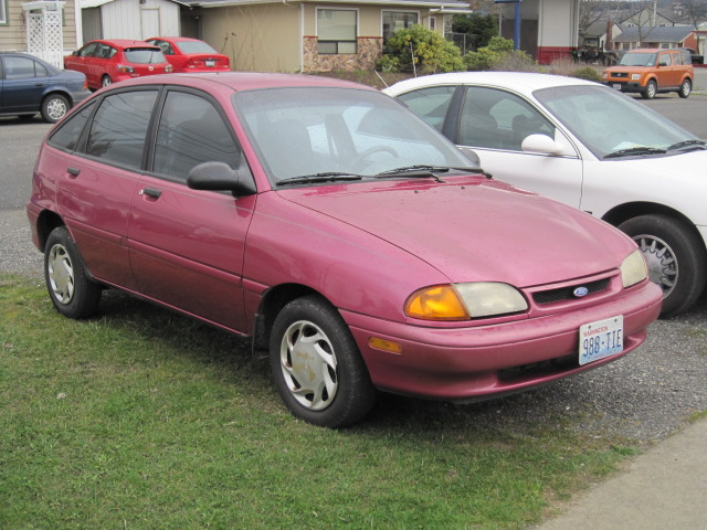 Ford Aspire #7