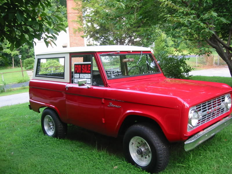 1967 Ford Bronco - Information and photos - MOMENTcar