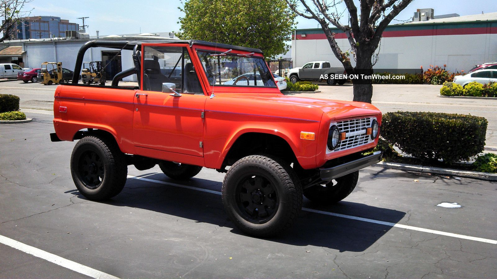 1971 Ford Bronco Information And Photos Momentcar