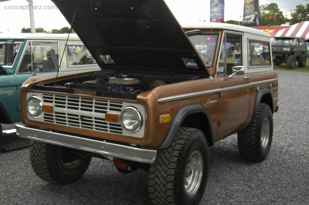 1972 Ford Bronco  Information and photos  MOMENTcar