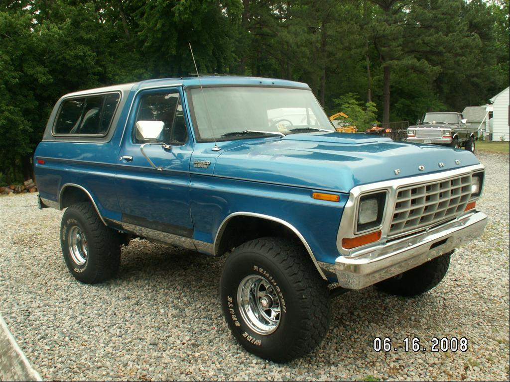 1979 Ford Bronco Information And Photos Momentcar