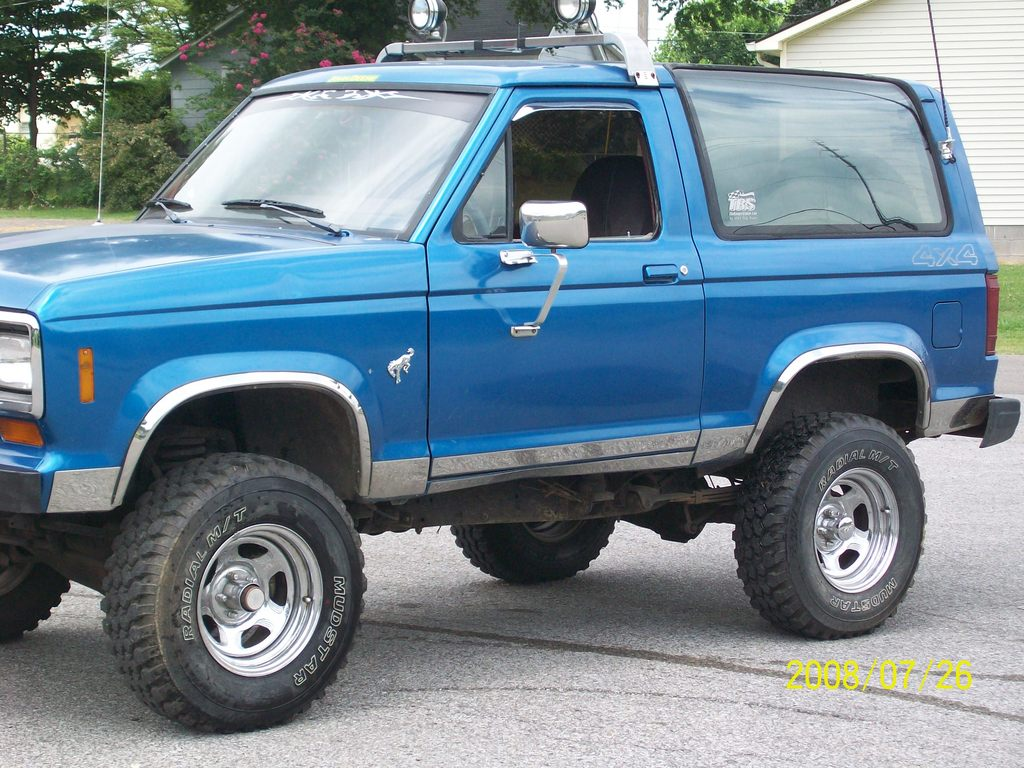 1985 Ford Bronco Information And Photos Momentcar