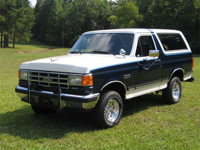 1988 ford bronco information and photos momentcar