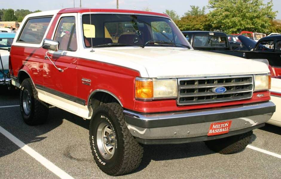 1989 Ford Bronco  Information and photos  MOMENTcar