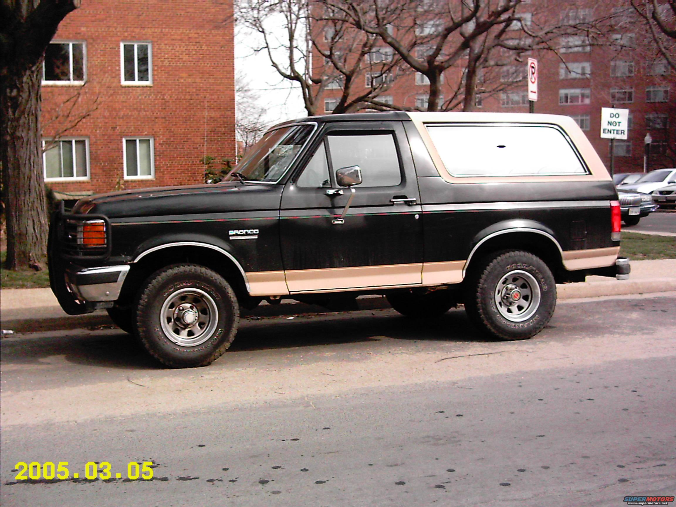 1990 Ford Bronco Information And Photos Momentcar