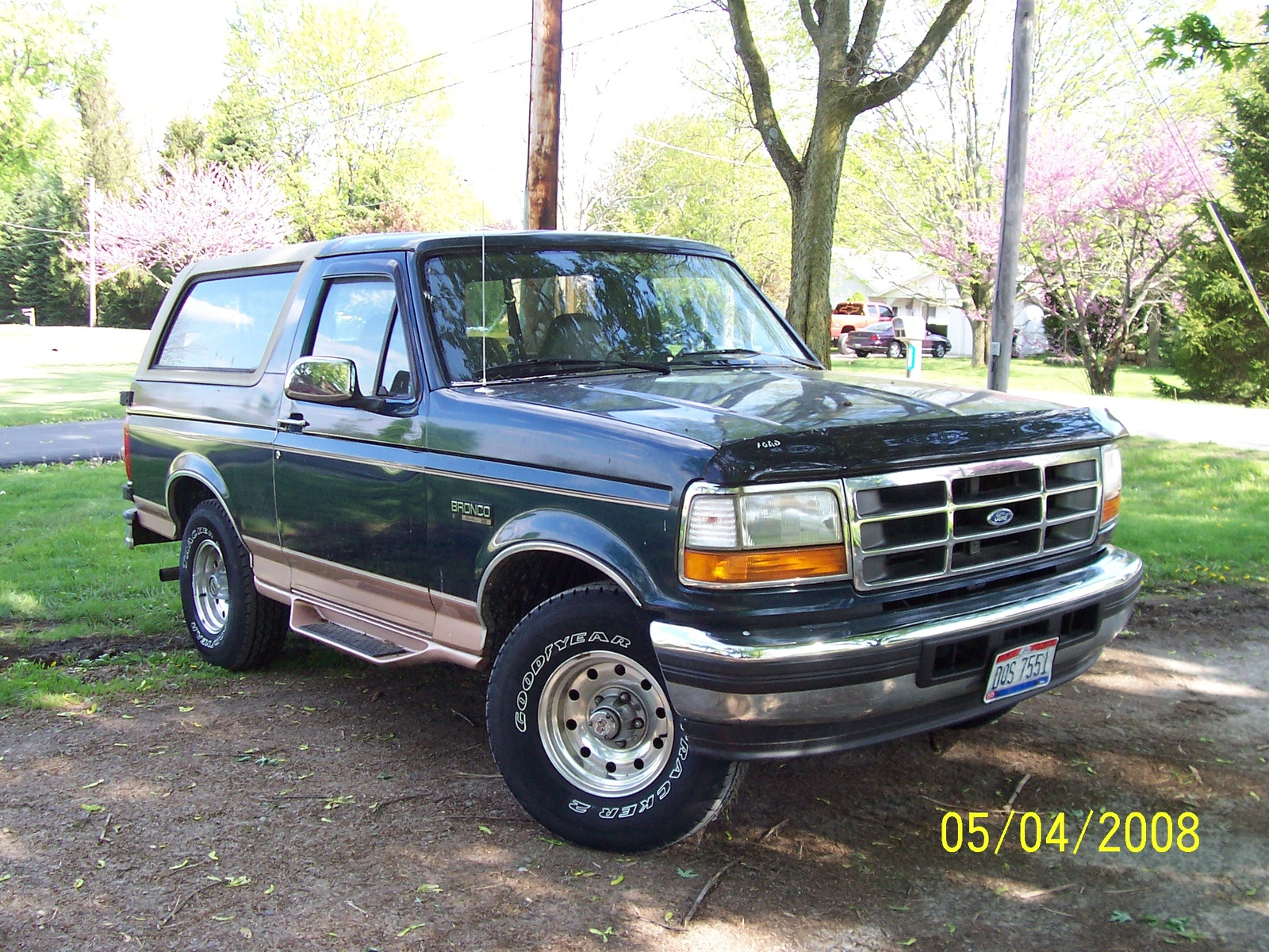 1995 ford bronco information and photos momentcar for 1995 geo tracker window regulator