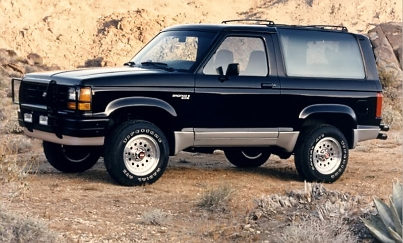 1989 Ford Bronco II  Information and photos  MOMENTcar
