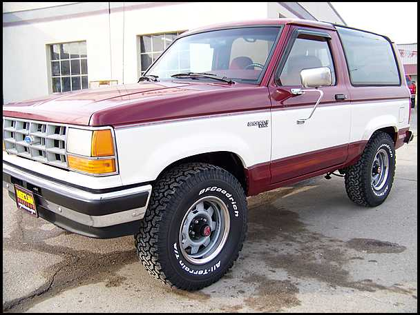 1990 ford bronco ii information and photos momentcar
