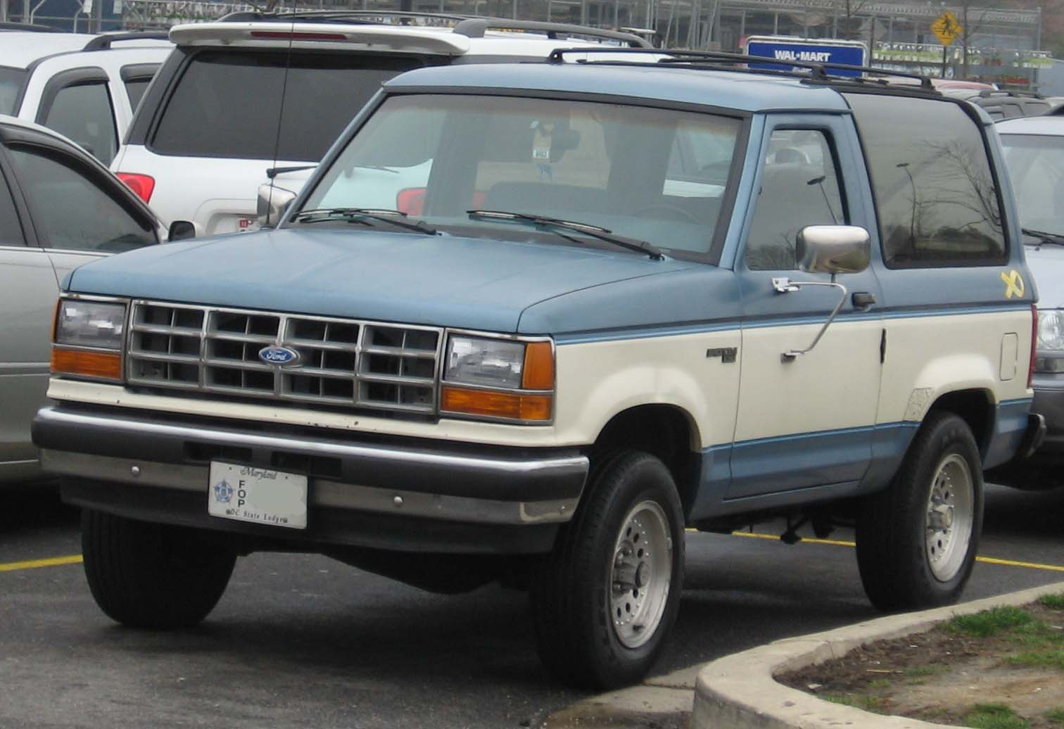 Ford Bronco Ii Information And Photos Momentcar 1990 Wiring Diagram 12