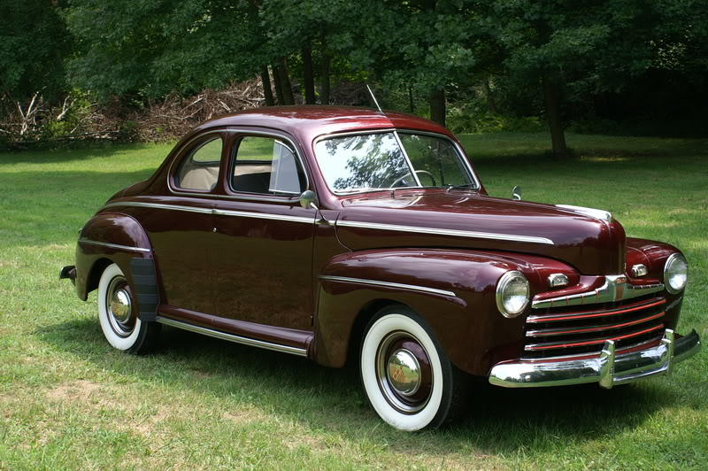 1946 Ford Business Coupe Information And Photos Momentcar