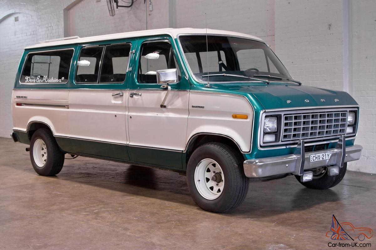 Passenger Van For Sale >> FORD CLUB WAGON - 124px Image #5