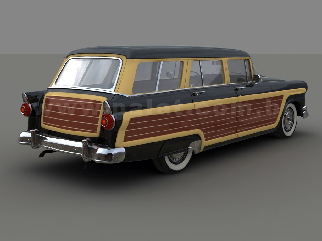 1954 Ford Country Squire Information And Photos Momentcar Station Wagon 7
