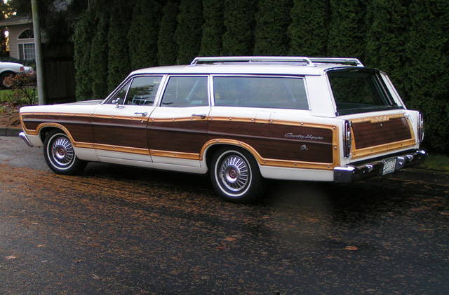 1967 ford country squire information and photos momentcar. Black Bedroom Furniture Sets. Home Design Ideas