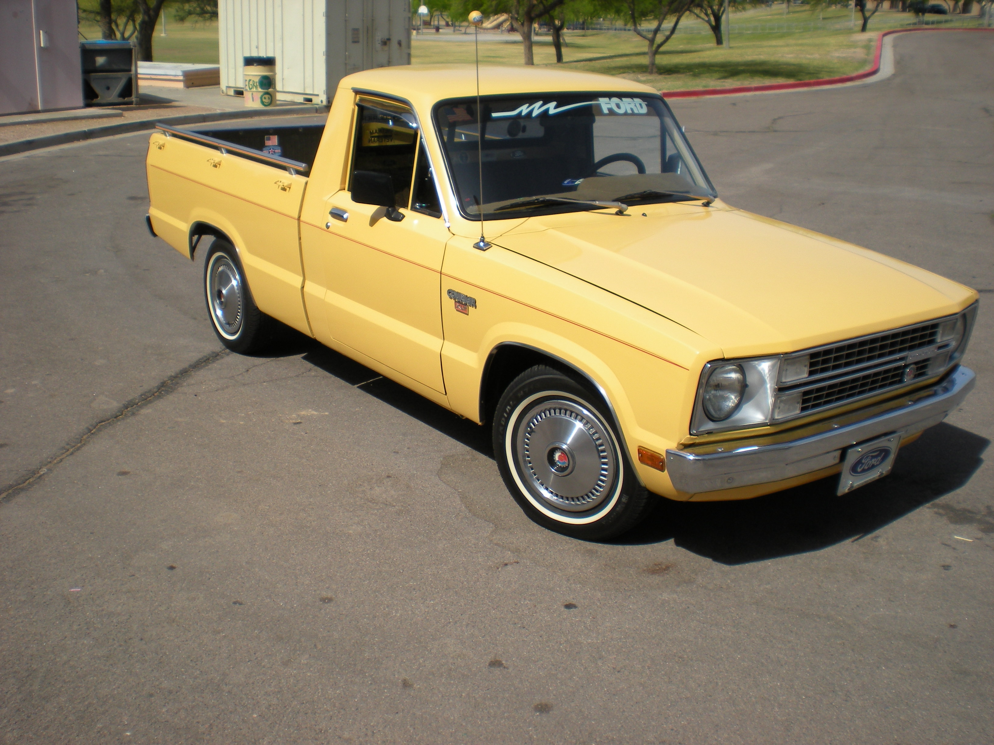 1979 Ford Courier Information And Photos Momentcar