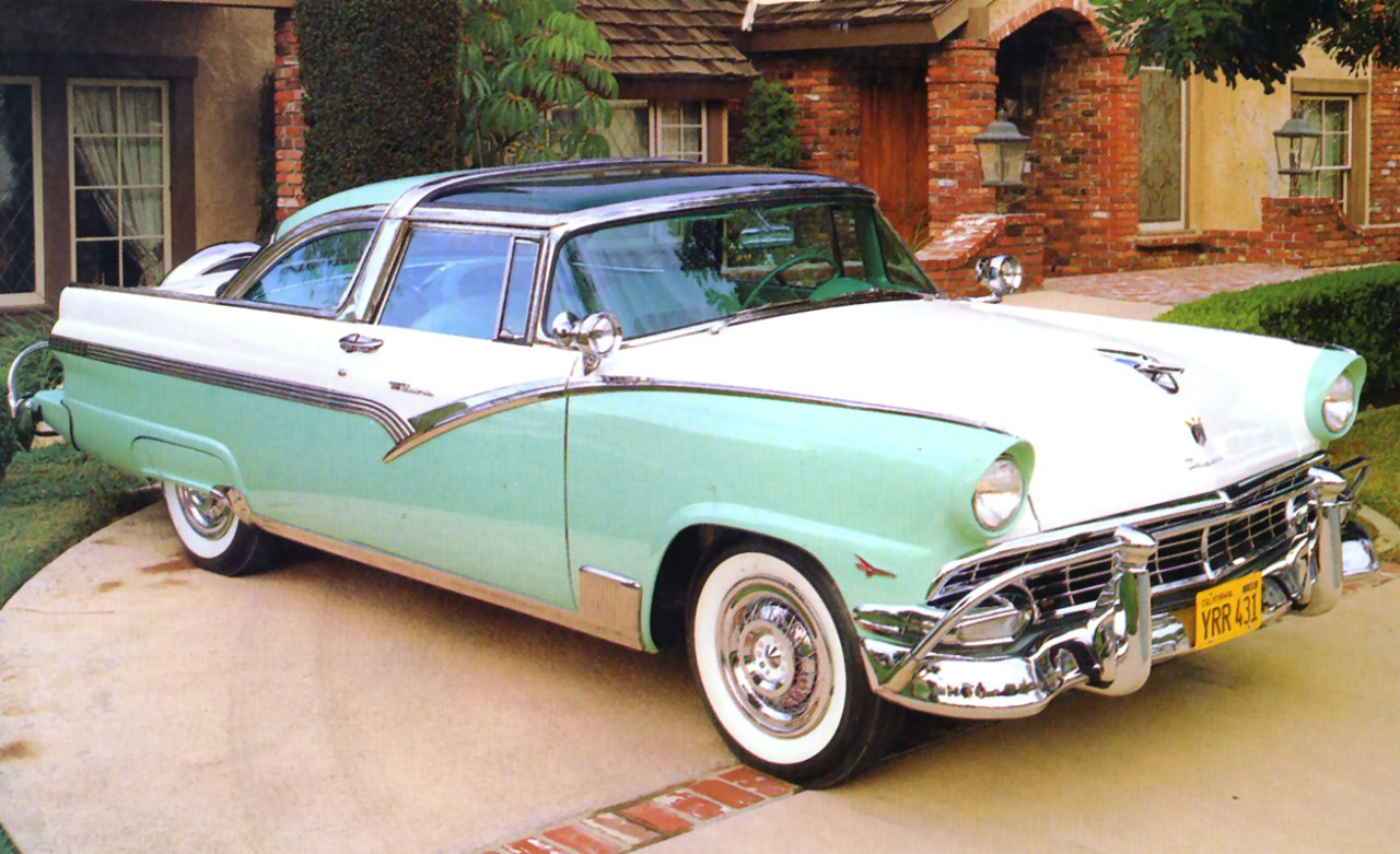 1956 Ford Crown Victoria - Information and photos - MOMENTcar