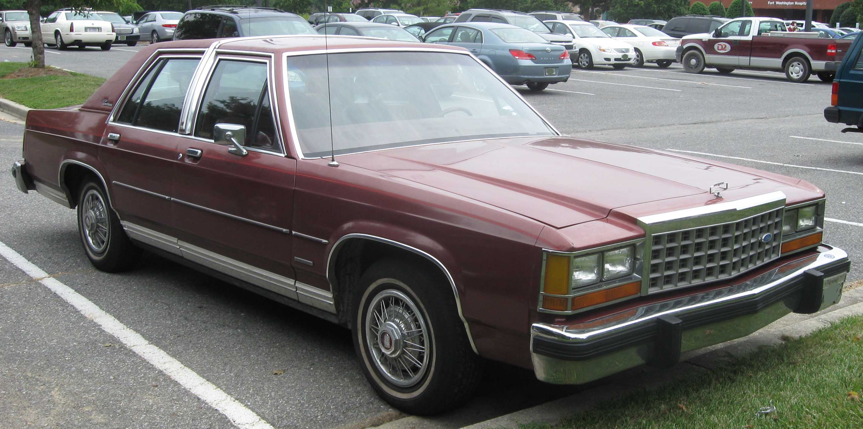 1983 Ford Crown Victoria Information And Photos Momentcar 1970 Ltd 6