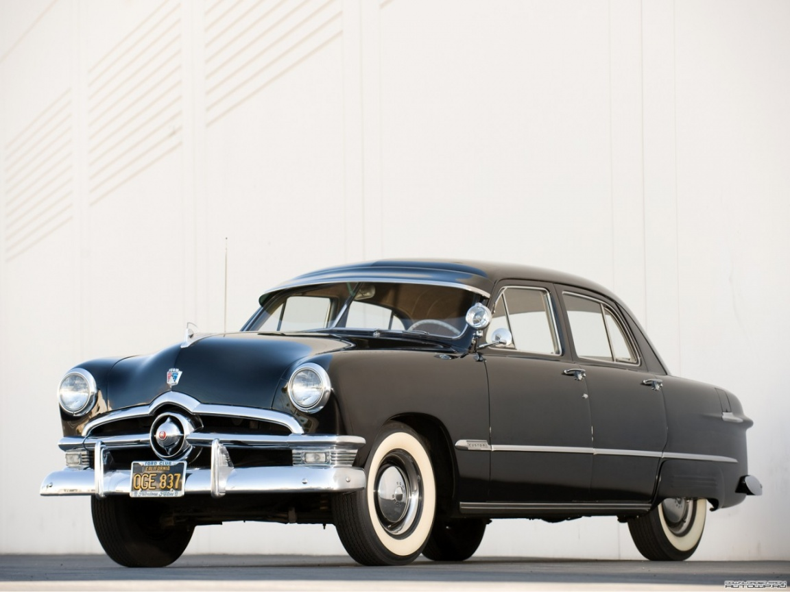 1950 Ford Custom Information And Photos Momentcar