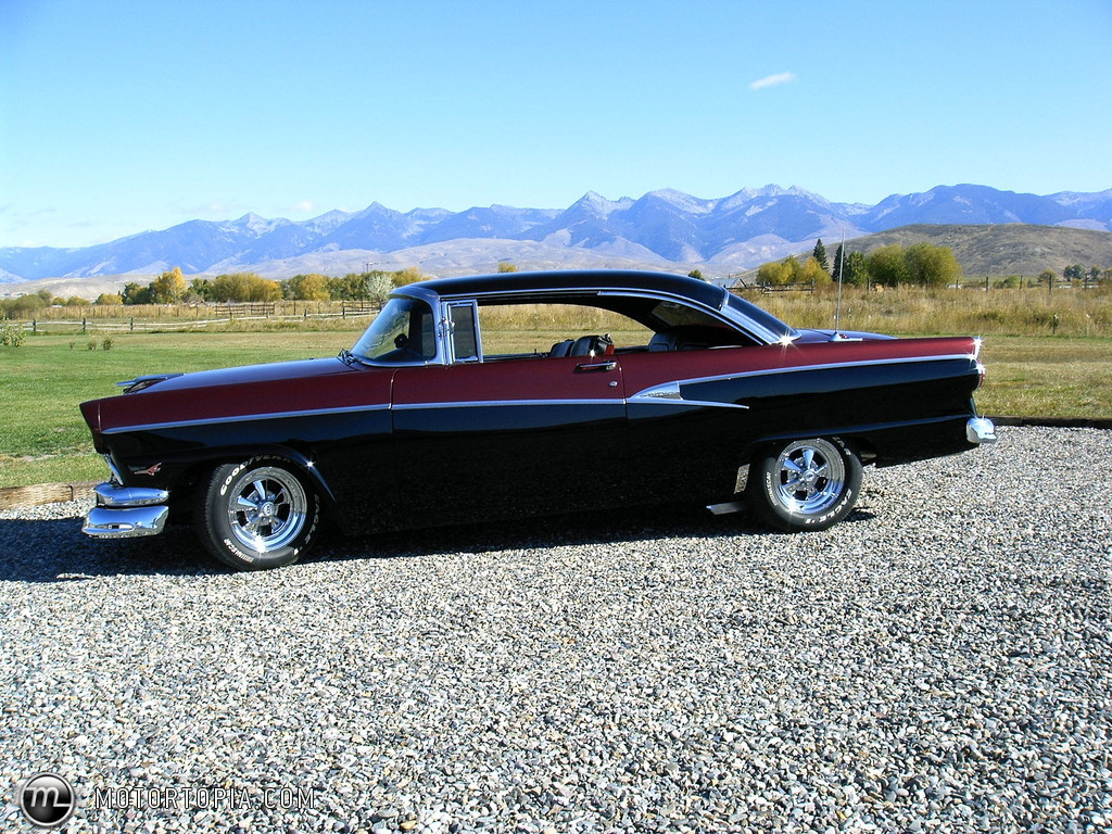 1956 ford customline - information and photos