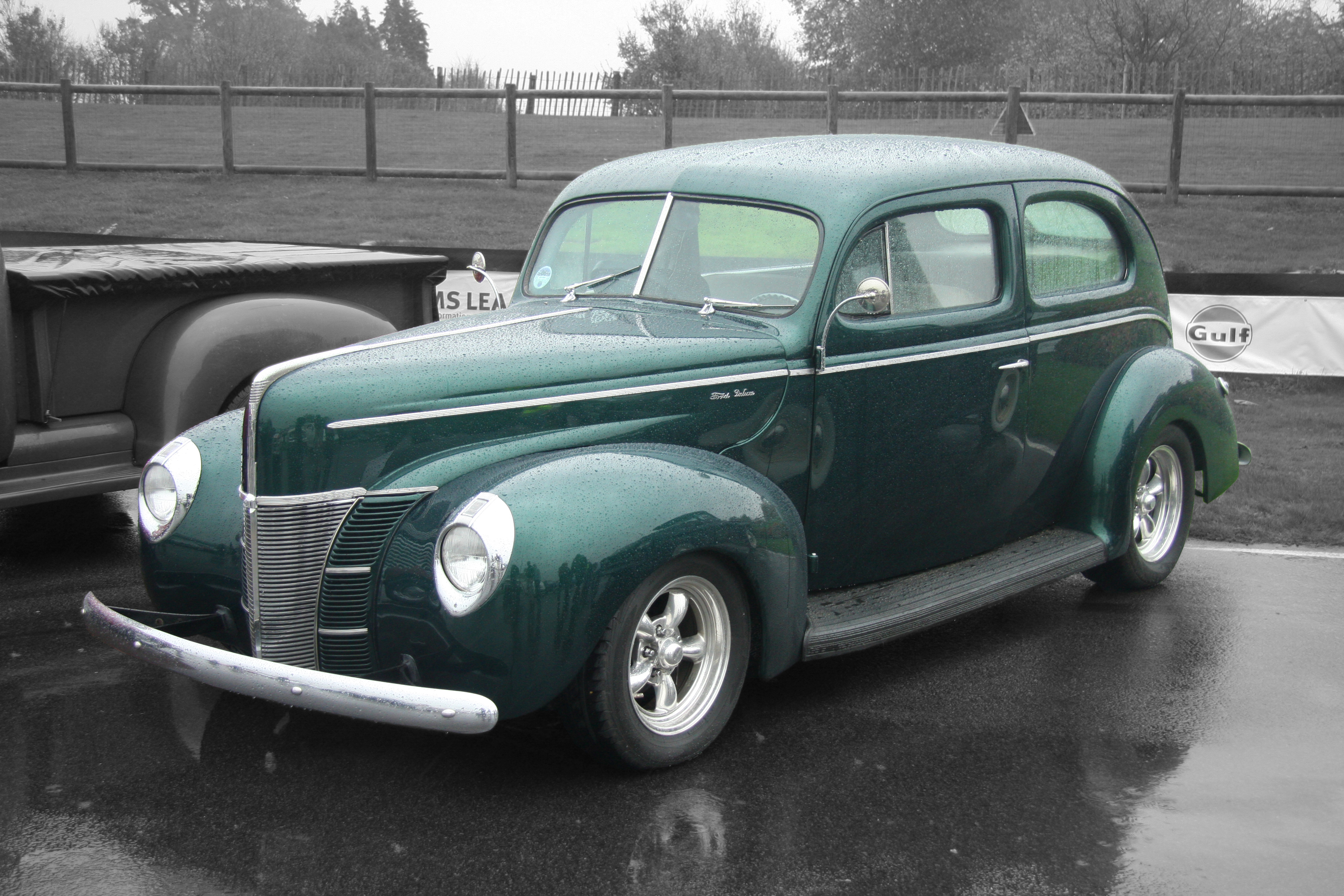 1940 ford deluxe information and photos momentcar for 1940 ford deluxe two door business coupe