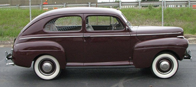1941 ford deluxe information and photos momentcar for 1941 ford super deluxe 4 door sedan