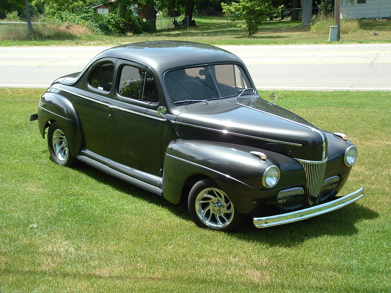 1941 Ford Deluxe Information And Photos Momentcar Tudor 6