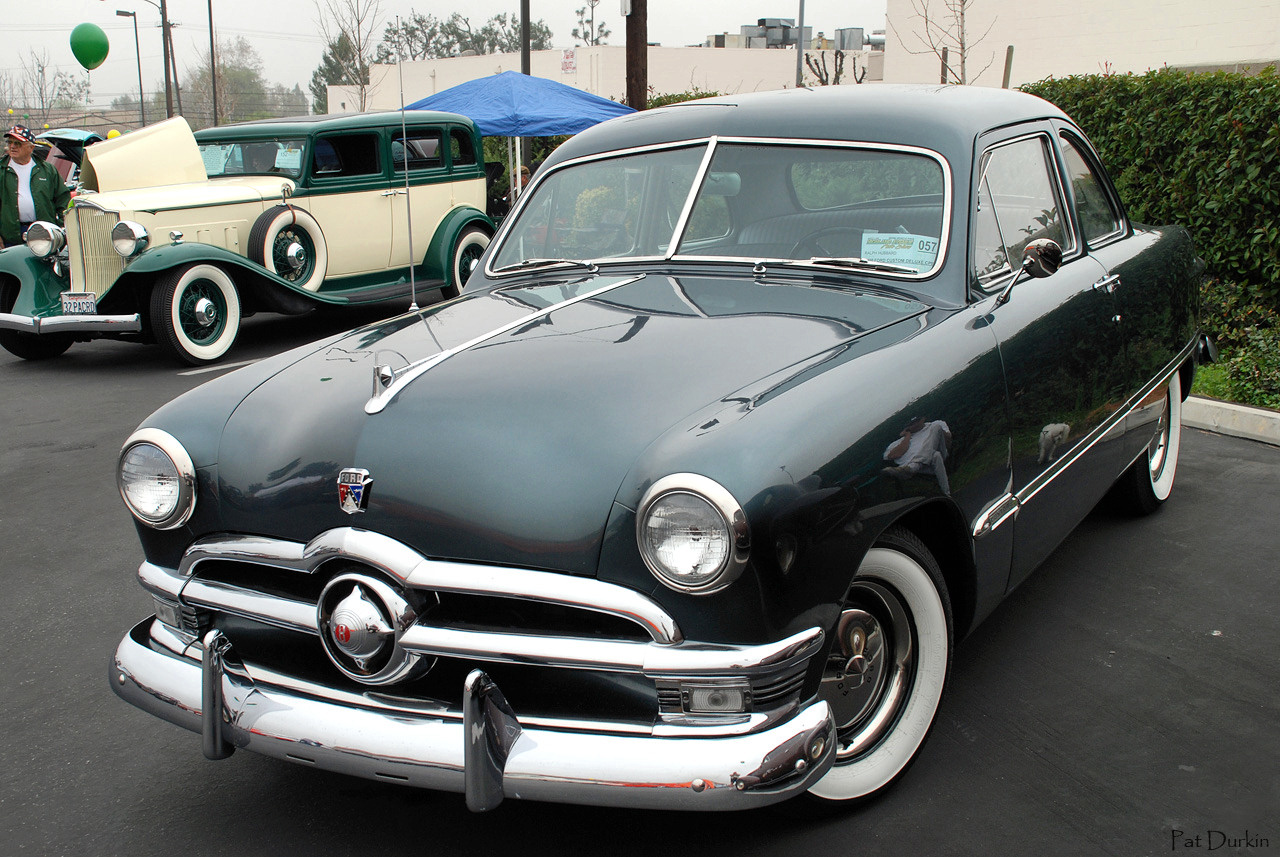 1950 Ford Deluxe Information And Photos Momentcar