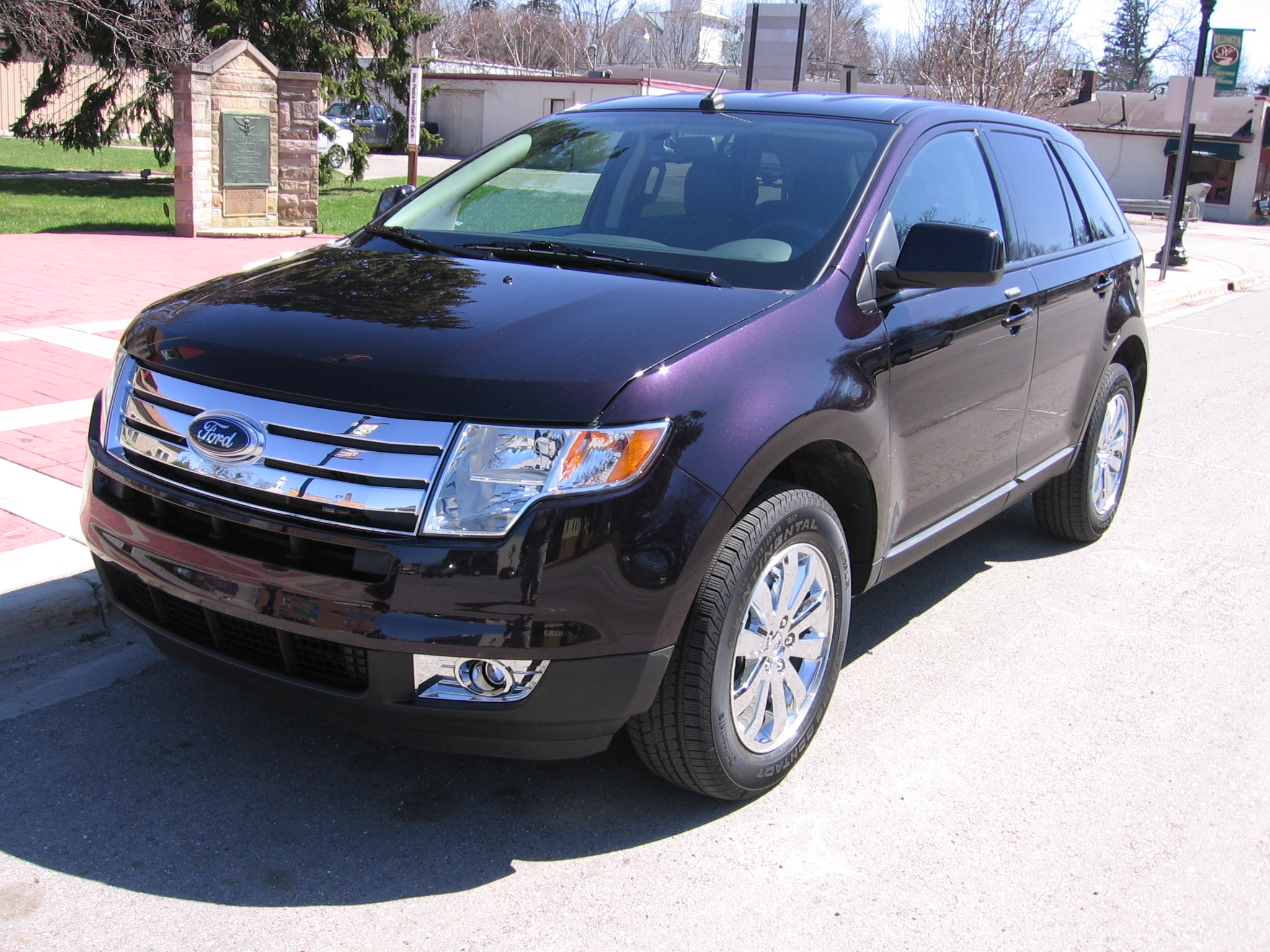 2007 ford edge information and photos momentcar